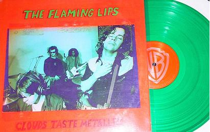 Clouds green vinyl