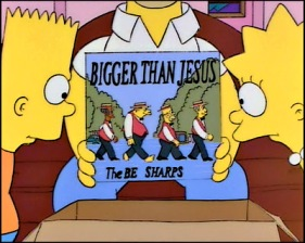 https://psychexfutureheart.files.wordpress.com/2013/05/471a4-thesimpsonsasartphistarsalbum_the-be-sharps-the-simpsons-bigger-then-jesus.jpg