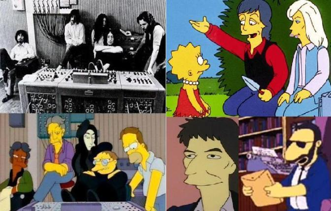 Beatles on Simpsons