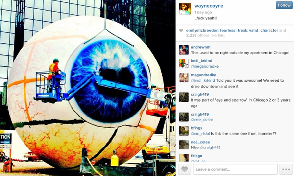 "Wayne Coyne Regrets Being A ""Little Too Free"" on Instagram 