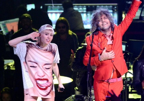 Miley and Wayne