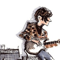 """The Complete Last Waltz 2013 Illustrated By Michael """"Inklines"""" Arthur"""